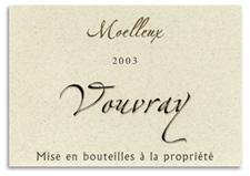 2003 Le Clos Baudoin Vouvray Moelleux