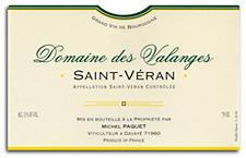 2008 Domaine Des Valanges St Veran