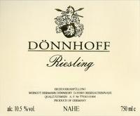 2011 Donnhoff Riesling Qba
