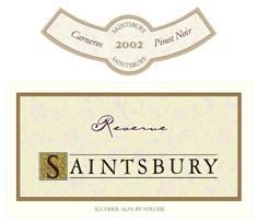 1995 Saintsbury Pinot Noir Carneros Reserve