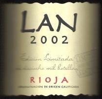 2011 Bodegas Lan Edicion Limitada Rioja