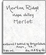 2006 Norton Ridge Merlot