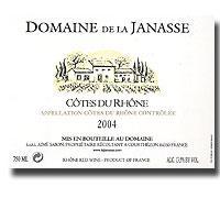 2012 Domaine De La Janasse Cotes Du Rhone