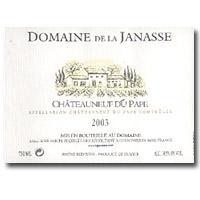 2008 Domaine de la Janasse Chateauneuf-du-Pape