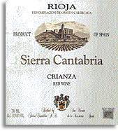 2009 Bodegas Sierra Cantabria Rioja Crianza