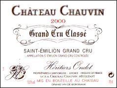 2012 Chateau Chauvin Saint-Emilion