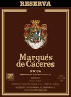 2005 Marques De Caceres Reserva Rioja