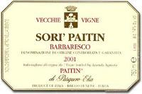 2011 Paitin di Pasquero Elia Barbaresco Sori Paitin  Vecchie Vigne