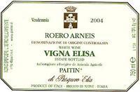 2008 Paitin Di Pasquero Elia Roero Arneis Vigna Elisa