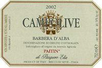 2008 Paitin di Pasquero Elia Barbera d'Alba Superiore Campolive