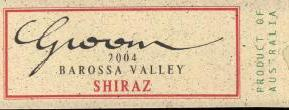 2006 Groom Winery Shiraz Barossa Valley