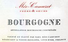 2012 Domaine Meo-Camuzet/Meo-Camuzet Frere & Soeurs Bourgogne Rouge