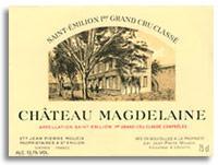 2001 Chateau Magdelaine Saint-Emilion