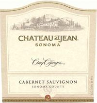 2002 Chateau St. Jean Cinq Cepages Red Wine Sonoma County