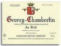 1998 Domaine Denis Mortet Gevrey-Chambertin Au Velle
