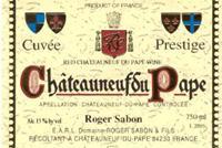 2003 Domaine Roger Sabon Chateauneuf-du-Pape Prestige