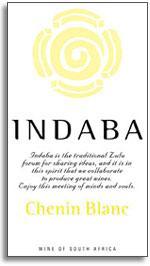 2012 Indaba Chenin Blanc Western Cape