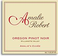 2010 Amalie Robert Estate Pinot Noir Amalie's Cuvee Willamette Valley