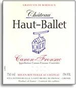 2012 Chateau Haut-Ballet Canon-Fronsac