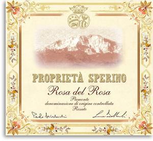 2013 Proprieta Sperino Rosa Del Rosa