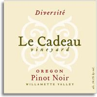 2010 Le Cadeau Vineyard Pinot Noir Diversite Willamette Chehalem Mountains