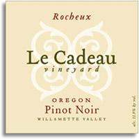 2010 Le Cadeau Vineyard Pinot Noir Rocheux Oregon