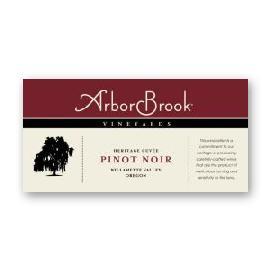 2015 ArborBrook Vineyards Pinot Noir Estate Heritage Cuvée Chehalem Mountains