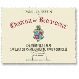 2012 Chateau De Beaucastel Chateauneuf-Du-Pape