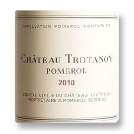 2010 Chateau Trotanoy Pomerol