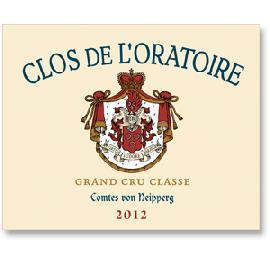 2012 Clos De L'Oratoire St. Emilion
