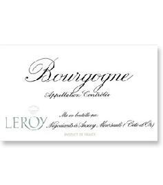 2016 Maison Leroy Bourgogne Blanc