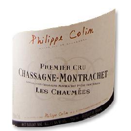 2013 Philippe Colin Chassagne-Montrachet Premier Cru Les Chaumees