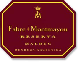 2013 Fabre Montmayou Malbec Reserva Mendoza