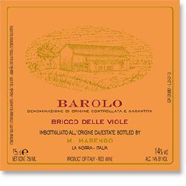 2010 M Marengo Barolo Bricco Delle Viole
