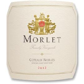 2012 Morlet Family Vineyards Pinot Noir Coteaux Nobles Sonoma Coast