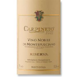 2011 Carpineto Vino Nobile di Montepulciano Riserva