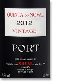 2012 Quinta do Noval Vintage Port