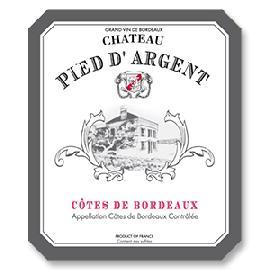 2015 Chateau Pied D'Argent Cotes de Bordeaux