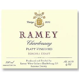 2011 Ramey Wine Cellars Chardonnay Platt Vineyard Sonoma Coast