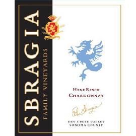 2012 Sbragia Family Vineyards Chardonnay Home Ranch Dry Creek Valley