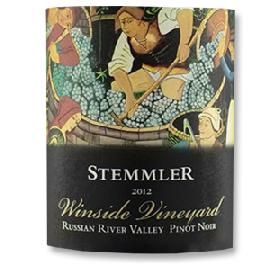 2012 Robert Stemmler Winery Pinot Noir Winside Vineyard Russian River Valley