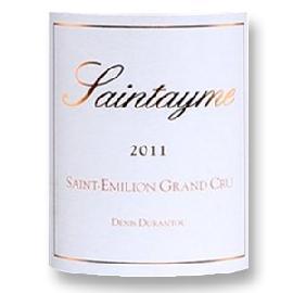 2011 Saintayme Saint-Emilion Grand Cru