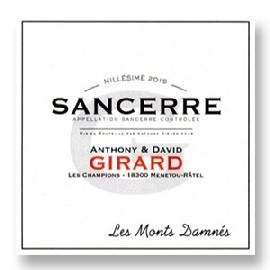 2015 Domaine Anthony & David Girard Sancerre Les Monts Damnes