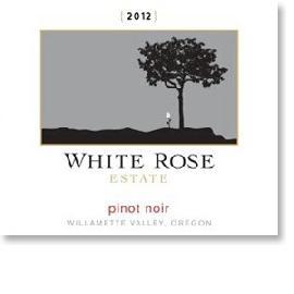 2011 White Rose Estate Pinot Noir Willamette Valley