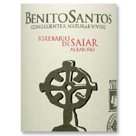 2014 Benito Santos Albarino Igrexario de Saiar Rias Baixas