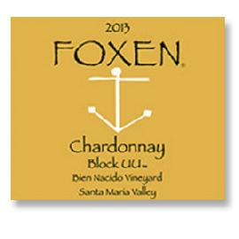 2012 Foxen Winery Chardonnay Bien Nacido Vineyard Block Uu Santa Maria Valley
