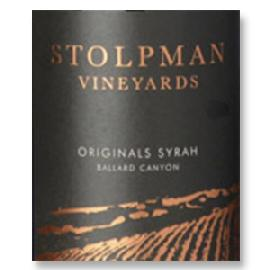 2013 Stolpman Vineyards Syrah Originals Estate Ballard Canyon