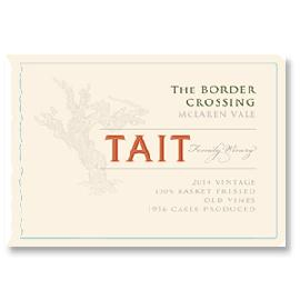 2014 Tait Wines The Border Crossing Old Vines Shiraz McLaren Vale