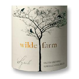 2014 Wilde Farm Syrah Halcon Vineyard