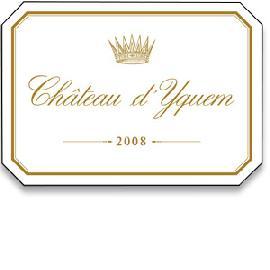 2008 Chateau d'Yquem Sauternes